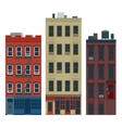 NY buildings vector image