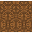 leather ornament vector image