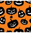 hallowen pattern vector image