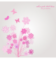 spring composition vector image