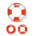Life buoy vector image vector image