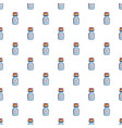 bottle of magic pattern seamless vector image