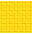 Seamless wicker pattern vector image