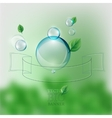 bio banner vector image