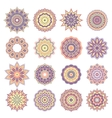 Set of Oriental Abstract Elements vector image vector image