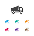 of complex symbol on camion vector image