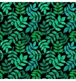 Leaves of tropical plants seamless pattern vector image