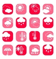 color weather icon set vector image