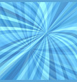 Abstract curved ray burst background - graphic vector image