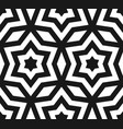 seamless pattern stars ornament texture vector image