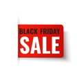 Black Friday Sale - red tag vector image