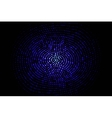 blue geometric flash 10 eps vector image