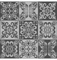 Tracery patchwork pattern Moroccan tiles ornaments vector image