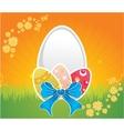 Easter design vector image