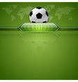 football score green world vector image vector image