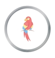 Parrot icon cartoon Singe animal icon from the vector image