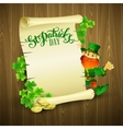 Saint Patricks day with vector image