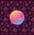 seamless geometric pattern in retro 80s style pop vector image