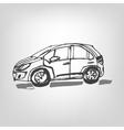 01 Car sketch vector image