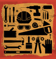 industrial equipment background vector image