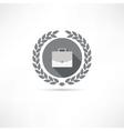 portfolio icon vector image