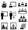 Business Presentation and Meeting vector image