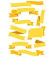 ribbonsandbanners63 vector image