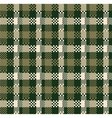 Digital plaid vector image vector image