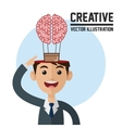 Creative design Colorfull  Cartoon vector image