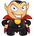 Vampire Mascot Evil Smile vector image