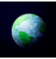 earth from space vector image