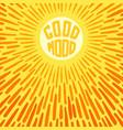 good mood vector image