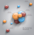 business sphere design vector image