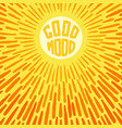 good mood vector image
