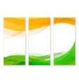 Indian Independence Day concept background vector image