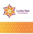 Lucky star icon vector image