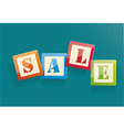 Big sale text with copy space vector image vector image