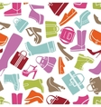 Fashion shoes pattern vector image