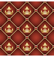 Seamless upholstery pattern vector image
