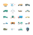 Transports Colored Icons 5 vector image