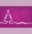 Violet Christmas Background vector image