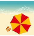 beach summer vector image vector image
