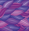 bright color pattern of the waves vector image