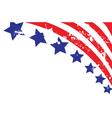 Usa border vector image