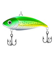 Fishing bait vector image
