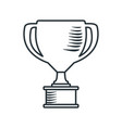 handdraw icon cup vector image