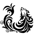 High quality original wolf tattoo vector image