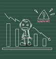 business warning vector image