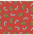 wrap cloth seamless texture for Christmas or New Y vector image