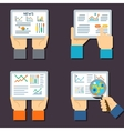 Stock exchange business technology Internet vector image